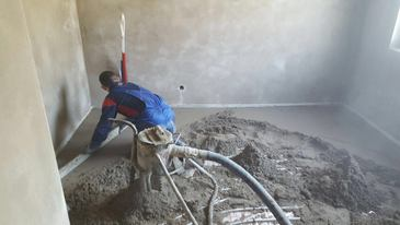 how to floor screed, rapid drying screed, London, UK