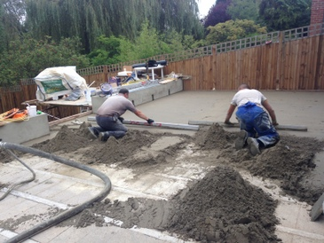 Screeding, Flooring specialists, London, UK